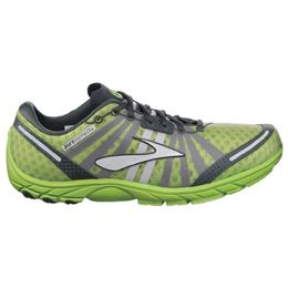 Brooks PureConnect, Color: LmeGrn/Anthracite/Blk/MetSlvr, Size: 11.0 Mens